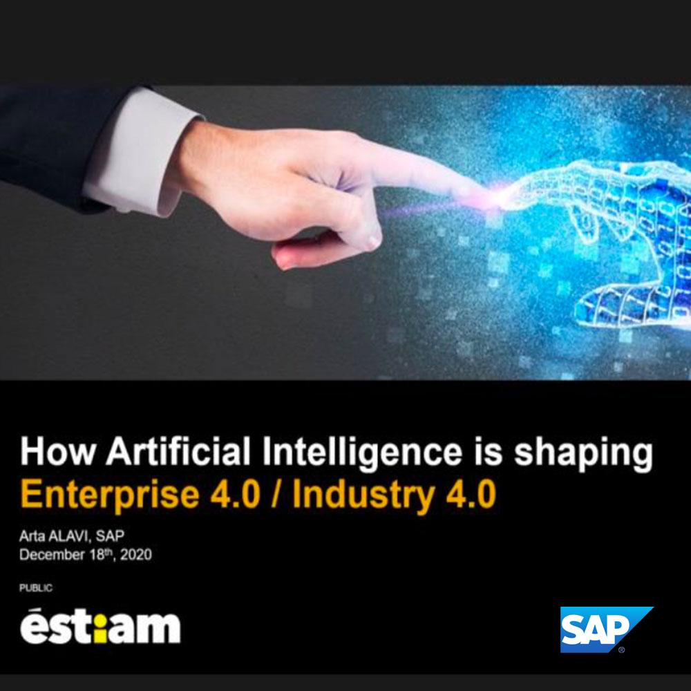 « L'IA va chambouler l'ensemble de la société » – Arta ALAVI, Chief Product Expert – Advanced Analytics chez SAP