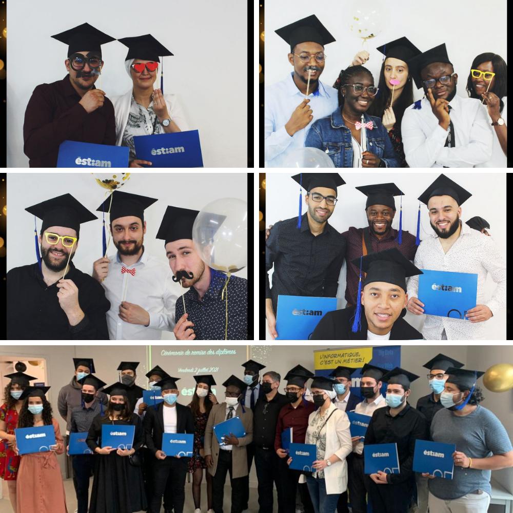 La remise des diplômes des promotions 2019 et 2020, enfin !